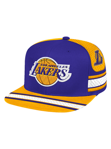 Los Angeles Lakers Women's Corduroy Adjustable Cap - Black
