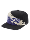 Los Angeles Lakers Diamond Prism Snapback Cap