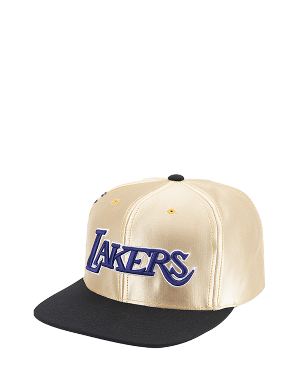 Los Angeles Lakers Onmi Branded Snapback Cap - Gold/Black