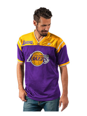Los Angeles Lakers Short Sleeve Knit Pullover