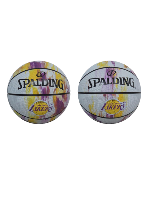 Los Angeles Lakers Small Marble B3 Ball