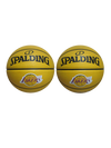 Los Angeles Lakers Small Alternate Texture B3 Ball