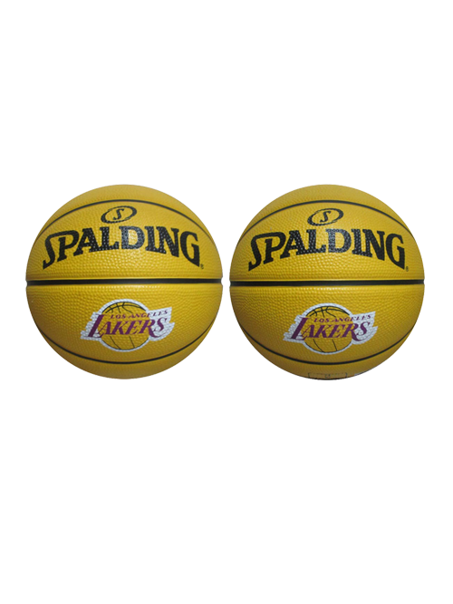 Los Angeles Lakers Small Simple B3 Ball