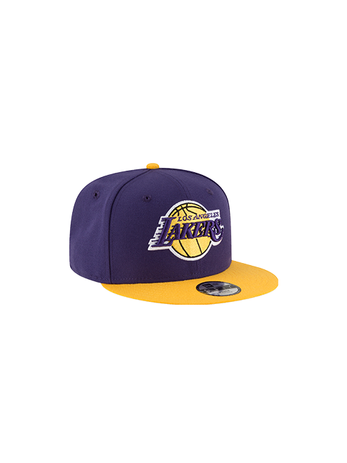 Los Angeles Lakers Kids 9FIFTY 2Tone Snapback Cap - Purple/Gold