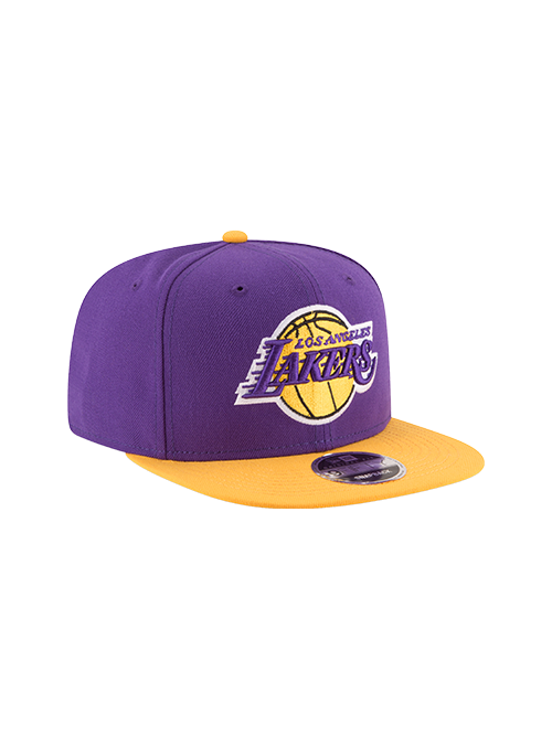 Los Angeles Lakers 9FIFTY 2Tone Snapback Cap - Purple/Gold