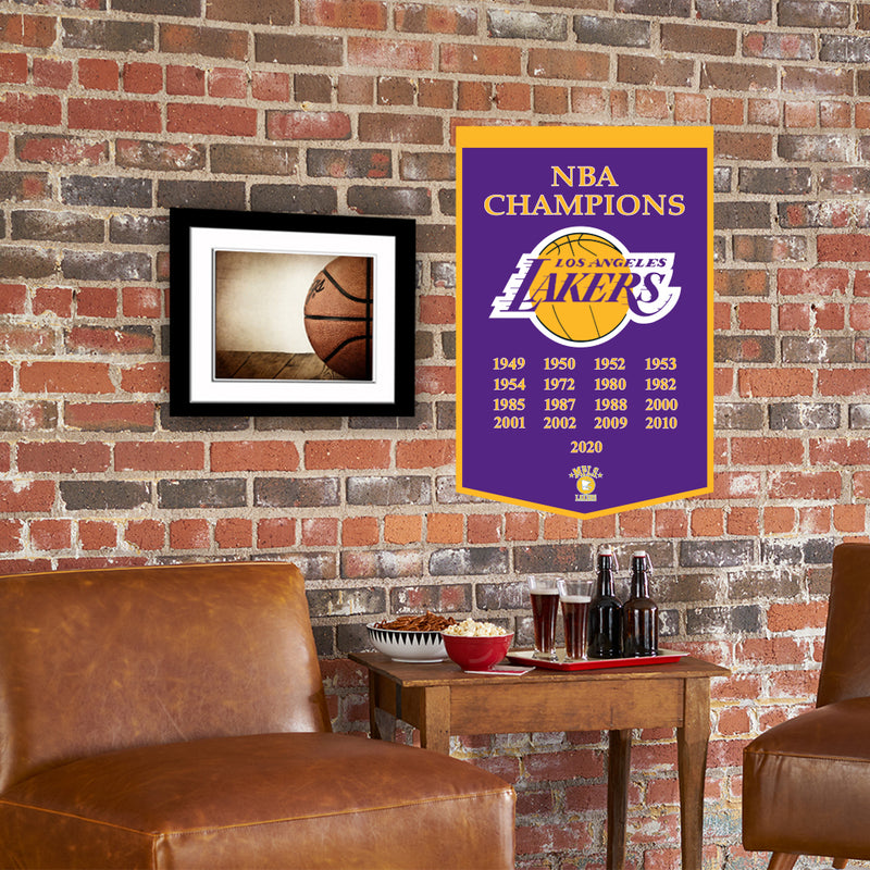 Los Angeles Lakers 2020 NBA Champions Dynasty Banner