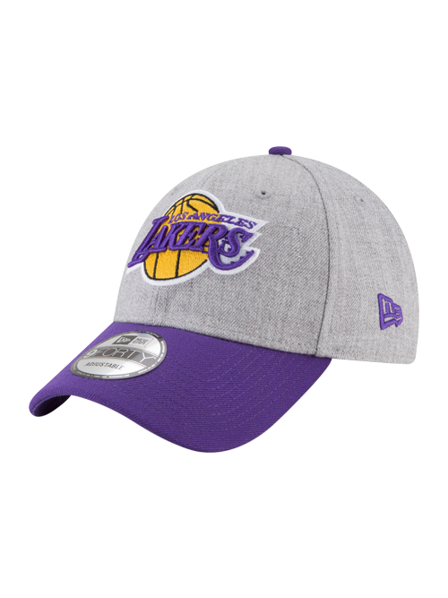 Los Angeles Lakers 9FORTY League Heather Adjustable Cap
