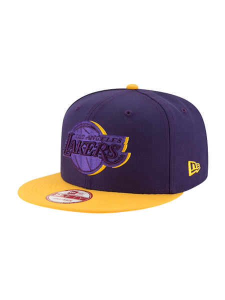 88b4a96d Los Angeles Lakers 9FIFTY Shadow Slice Snapback Cap – Lakers Store