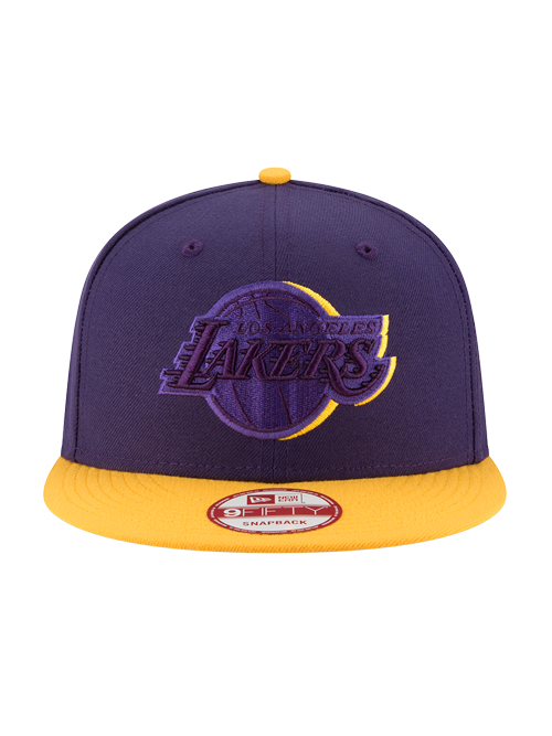 Los Angeles Lakers 9FIFTY Shadow Slice Snapback Cap