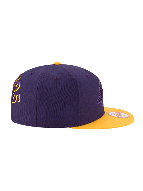 Los Angeles Lakers 950 Shadow Slice Snap Back Cap
