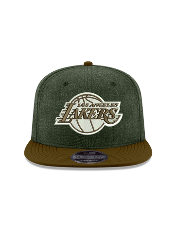 Los Angeles Lakers 950 Heather Grand Primary Logo Snap Back Cap
