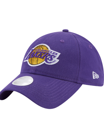 Los Angeles Lakers 39THIRTY On Court Reverse Team Flex Fit Cap