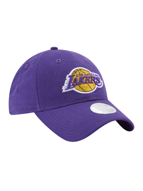 Los Angeles Lakers Women s 9TWENTY Team Glisten Adjustbale Cap 9bf852f680a4