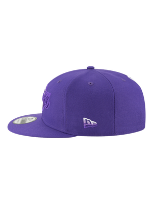 Los Angeles Lakers 9FIFTY Faded Front Snapback Cap