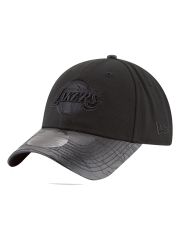 Los Angeles Lakers 9FORTY On Court Statement Wordmark Primary Logo Side Adjustable Cap