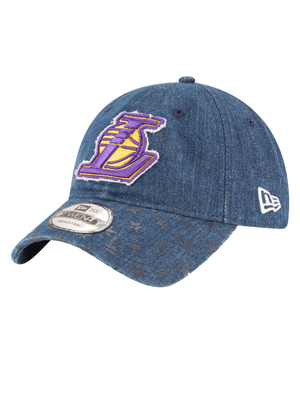 Los Angeles Lakers 9TWENTY Starred Team Vize Adjustable Cap