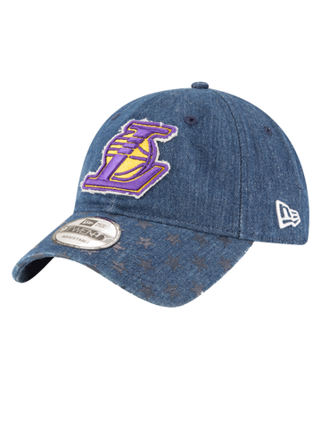 Los Angeles Lakers 59FIFTY Centric Team Badge Fitted Cap