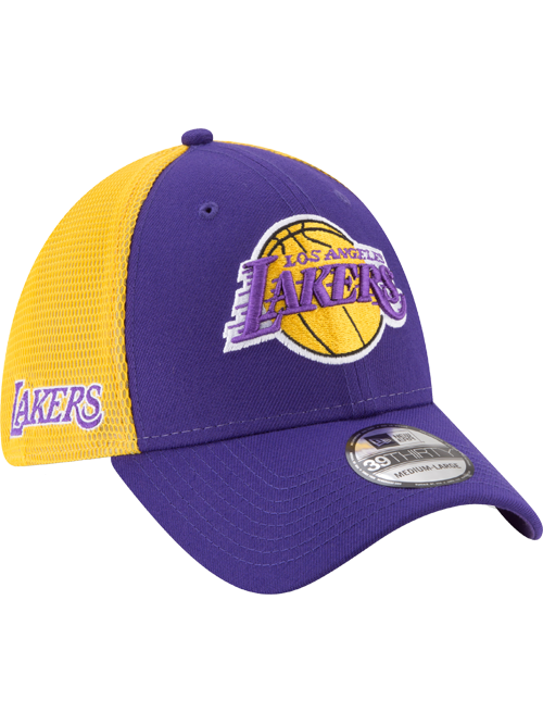 Los Angeles Lakers 39THIRTY Two Tone Sided Flex Cap