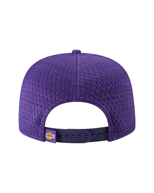 Los Angeles Lakers 9FIFTY Fresh Front Zubaz Snapback Cap