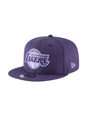 Los Angeles Lakers 2018 Draft 9FIFTY Gray Snapback Cap