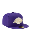 Los Angeles Lakers 59FIFTY Team Crest Front Fitted Cap