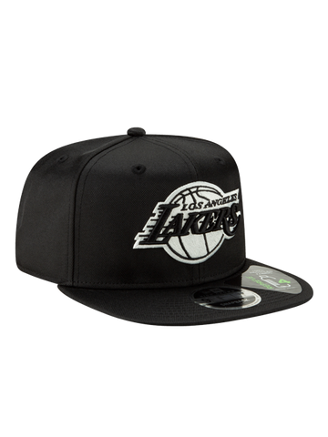 Los Angeles Lakers TDE 9FIFTY Low Profile Snapback - Purple/White