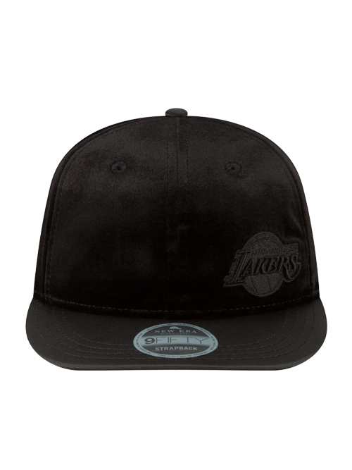 Los Angeles Lakers 9FIFTY Velour Retro Snapback Cap