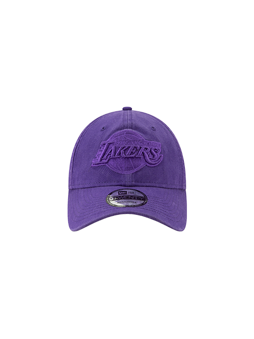 Los Angeles Lakers 9TWENTY Core Classic Purple Tonal Adjustable Cap