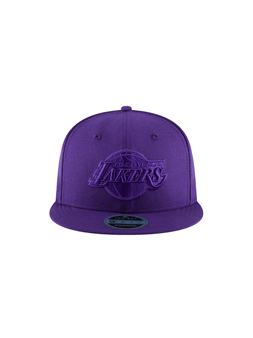 Los Angeles Lakers 9FIFTY BL Tonal Snapback Cap - Purple