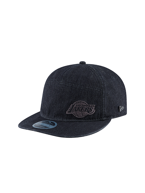 Los Angeles Lakers RC 9FIFTY BL Denim Adjustable Cap - Grey