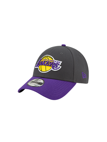 Los Angeles Lakers Purple White Clean Up Adjustable Cap