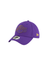 Los Angeles Lakers 39THIRTY 2Tone Mold Flex Cap - Purple/Gold