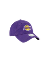Los Angeles Lakers Women's Worded Adjustable Cap - Purple