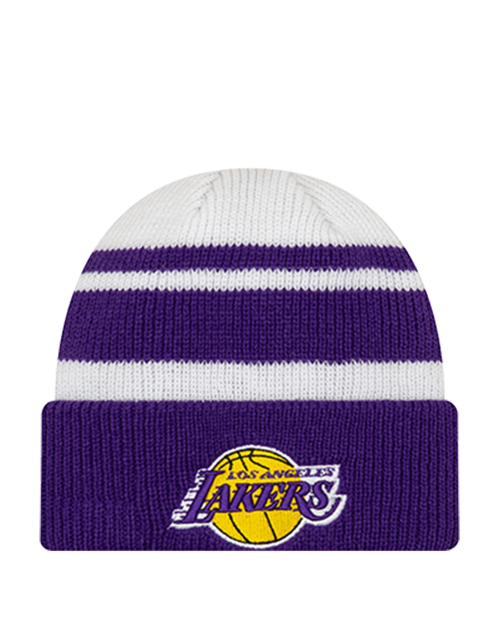Los Angeles Lakers Knit Cozy Cuff Beanie - Purple