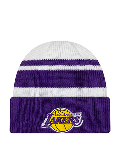 Los Angeles Lakers Micro Metal Knit Hat