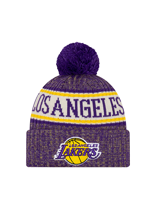 Los Angeles Lakers Sport Knit Multicolor Pom Knit