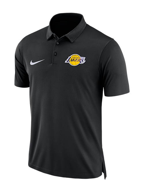 Los Angeles Lakers Statement Polo - Black