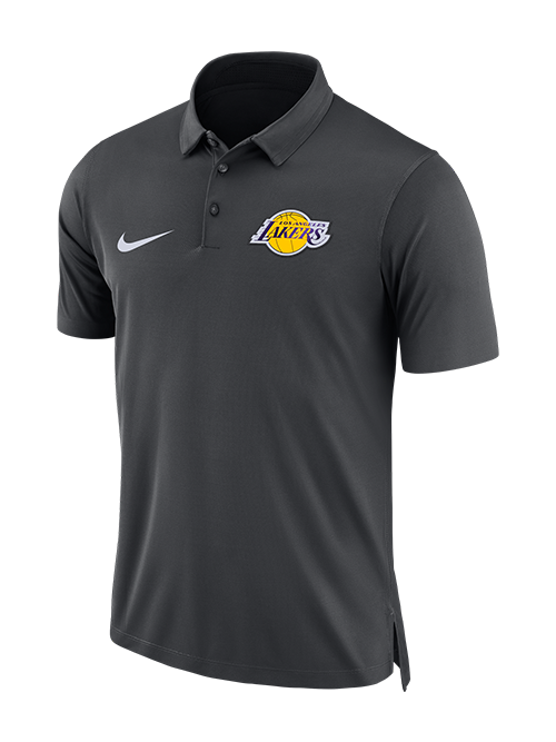 Los Angeles Lakers Anthracite Statement Polo