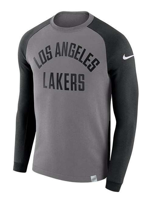 Los Angeles Lakers Two Tone Modern Fit Crew