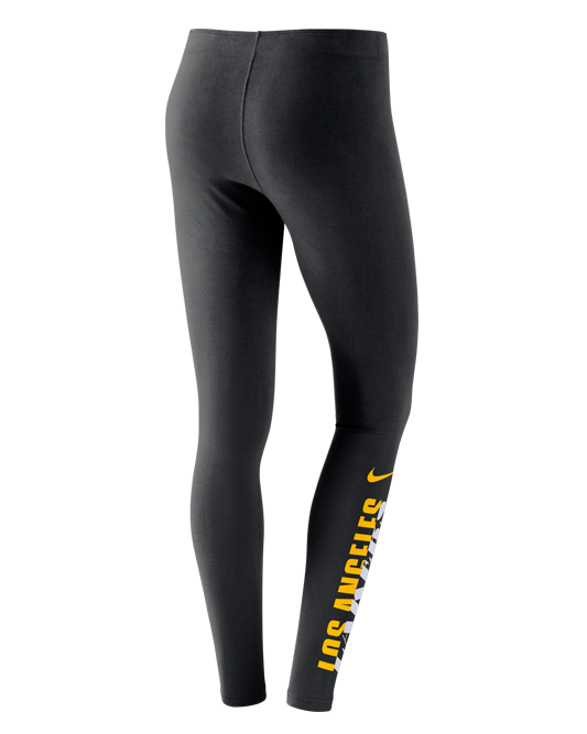 Leg-A-See Womens Los Angeles Lakers Tight