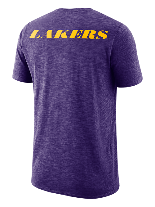 Los Angeles Lakers Facility Short Sleeve T-Shirt