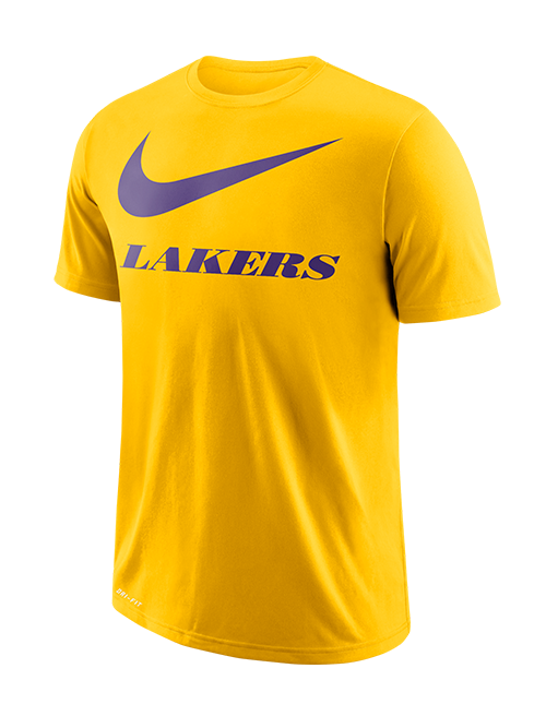 Los Angeles Lakers Swoosh Team T-Shirt