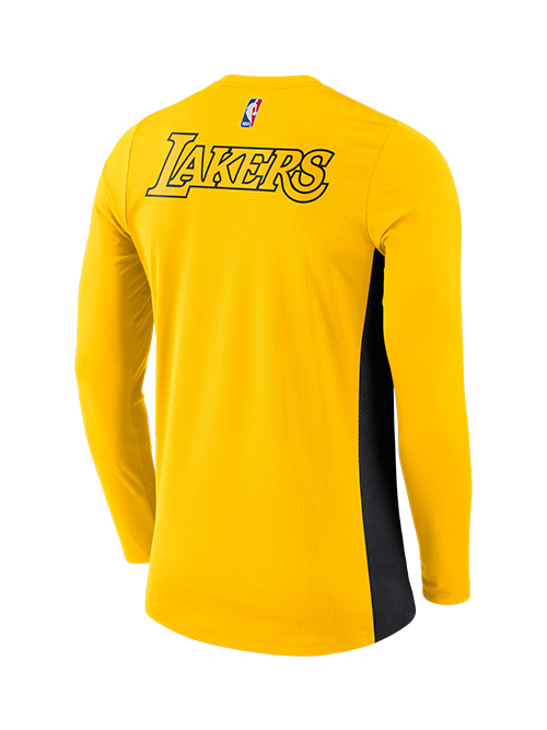 Los Angeles Lakers City Edition Hyper Elite Long Sleeve Shooter