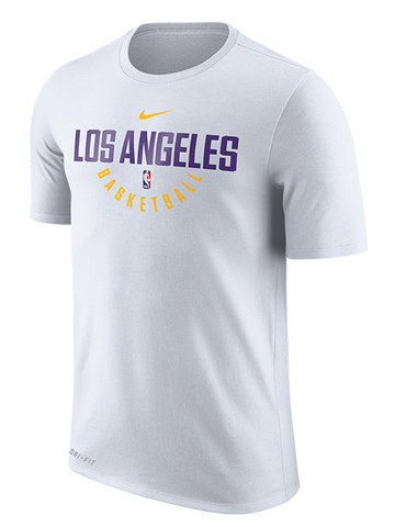 Los Angeles Lakers White Practice T-Shirt