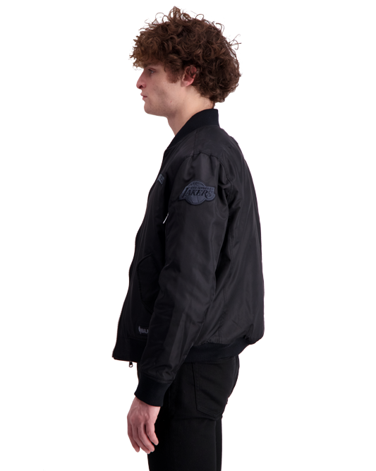Los Angeles Lakers Reversible Bomber Jacket