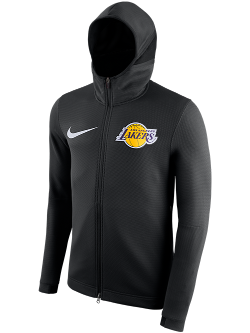 Los Angeles Lakers Therma Flex Showtime Full-Zip - Black