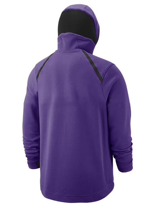 Los Angeles Lakers Dry Hoodie Showtime Full-Zip - Purple – Lakers Store ae04fc8a7ac9