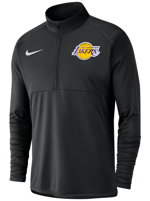 Los Angeles Lakers Dry Top Element Quarter Zip