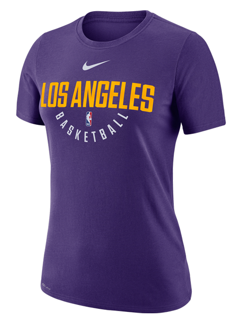 09bc0fcc6a2 Los Angeles Lakers Women s Purple Practice T-Shirt – Lakers Store