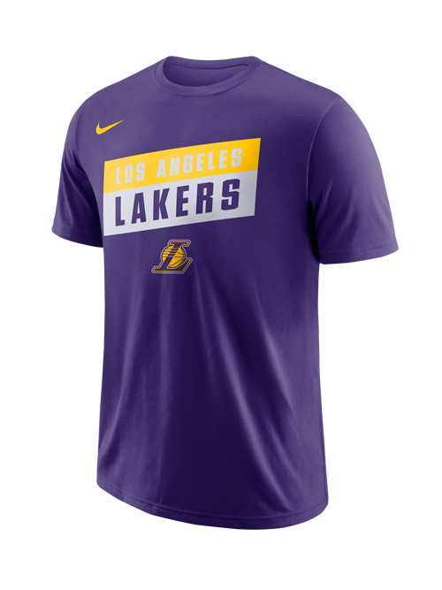 Los Angeles Lakers Stacked Logo T-Shirt – Lakers Store 6768b7e1e